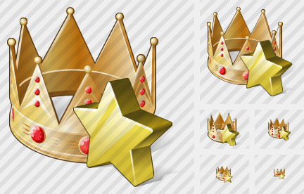 Crown Favorite Icon