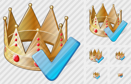 Crown Ok Icon