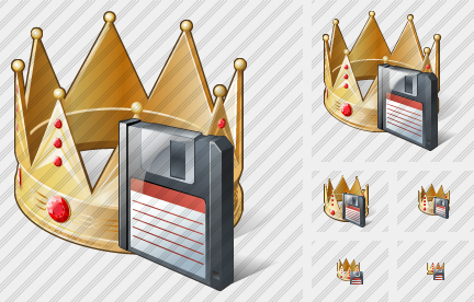 Crown Save Icon