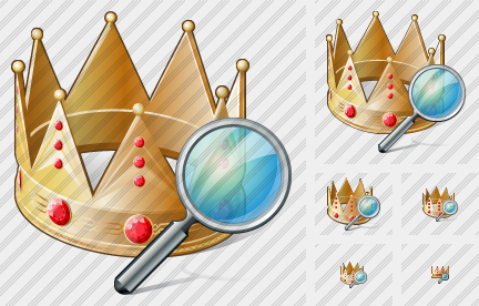 Crown Search Icon