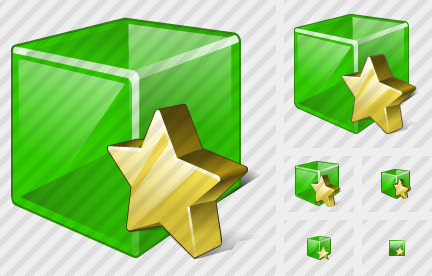 Cube Favorite Icon
