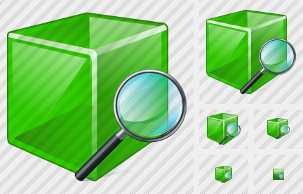 Cube Search 2 Icon