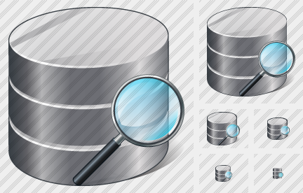 Database Search 2 Icon
