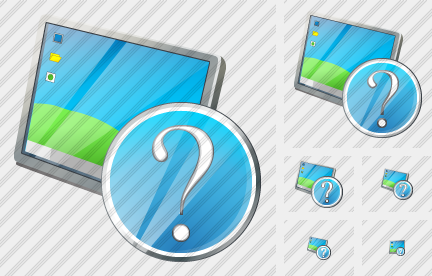 Desktop Question Icon