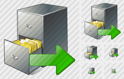 Document Box Export Icon
