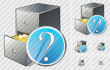 Document Box Question Icon