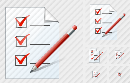Document Task Edit Symbol