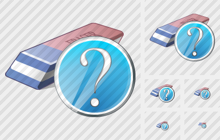 Eraser Question Icon