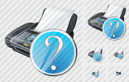 Fax Question Icon