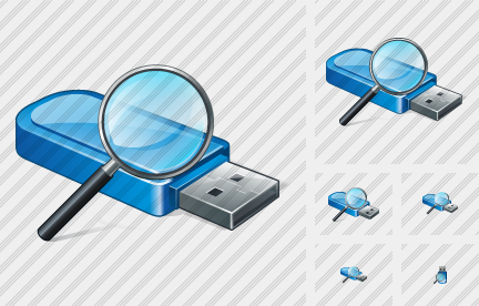 Flash Drive Search 2 Icon