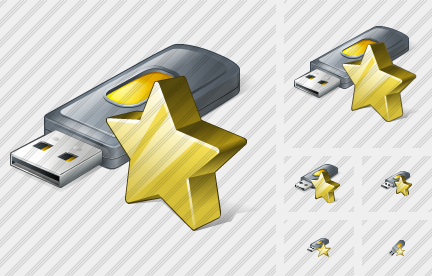 Flash Drive2 Favorite Icon