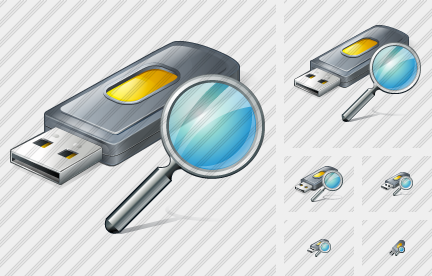Flash Drive2 Search Icon