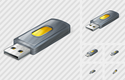 Flash Drive 2 Icon