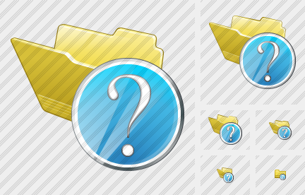 Folder Question Icon