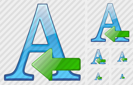 Font Import Icon