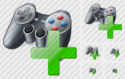 Gamepad Add Icon