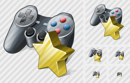 Gamepad Favorite Symbol