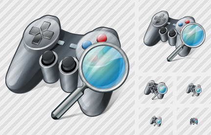 Gamepad Search Icon