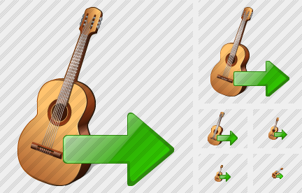 Guitar Export Icon