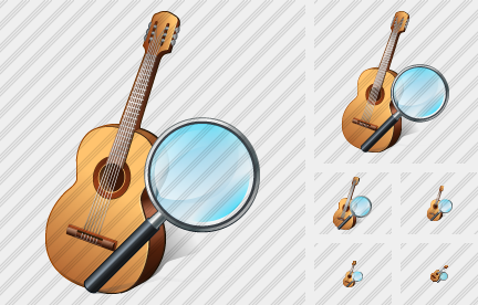 Guitar Search 2 Symbol