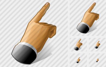 Hand Icon Ico Mouse Click Icon