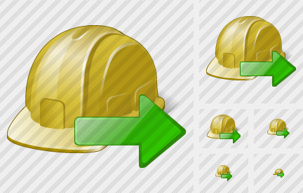 Helmet Export Icon