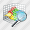 3D Graph Search 2 Icon