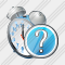 Alarm Clock Question Icon