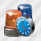 Beacon Light Clock Icon