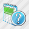 Calendar Question Icon
