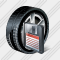 Car Wheel Save Icon