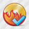 CD Burn Ok Icon