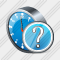 Clock Question Icon