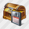 Treasure Save Icon