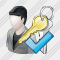 User Administrator Ok Icon