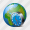 Web Clock Icon