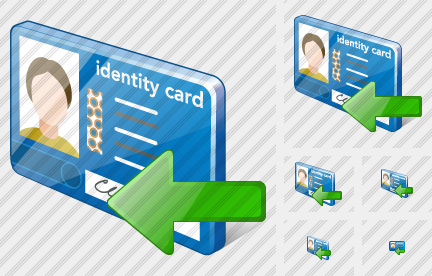 Index Card Import Icon