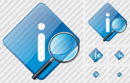 Info Search 2 Icon