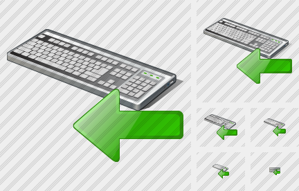 Keyboard Import Icon