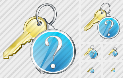 Keys Question Icon