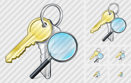 Keys Search 2 Symbol