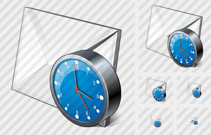 Mail2 Clock Icon