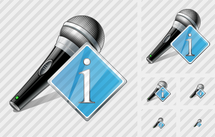 Microphone Info Icon