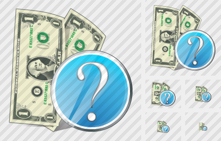 Money Question Icon