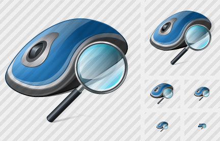 Mouse Search 2 Icon