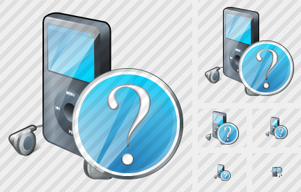 MP3 Player Question Icon