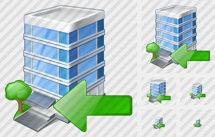 Office Building Import Icon