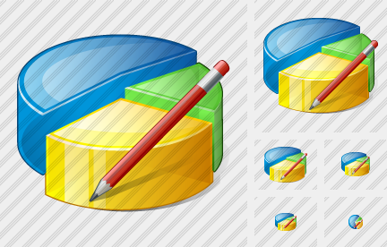 Pie Chart Edit Icon