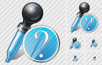 Pipette Question Icon