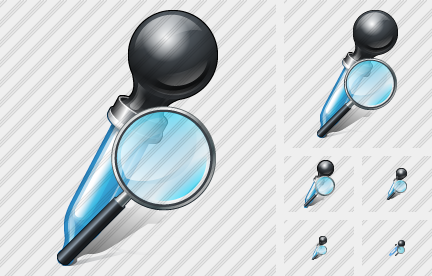 Pipette Search 2 Icon